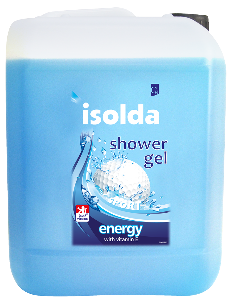 ISOLDA Energy shower gel 5L