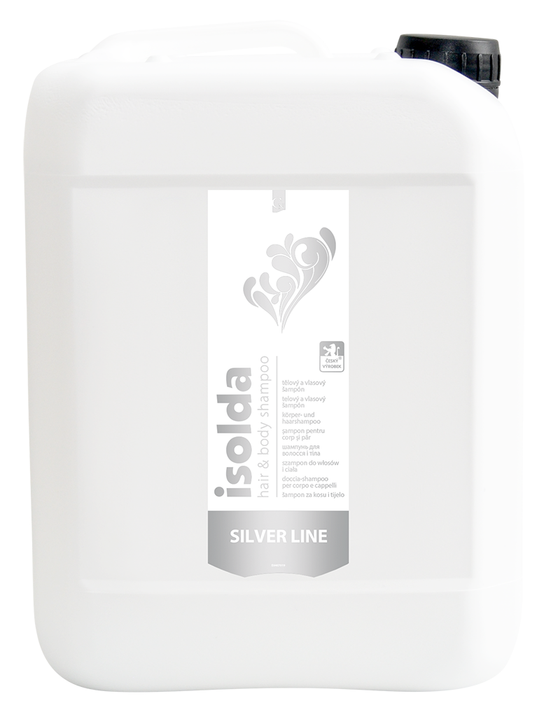 ISOLDA Silver Line Hair and Body Shampoo 5L